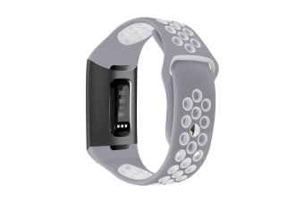 Bands Compatible for Fitbit Charge 3, Replacement Accessory Sport Band Compatible for Fitbit Charge 3 L