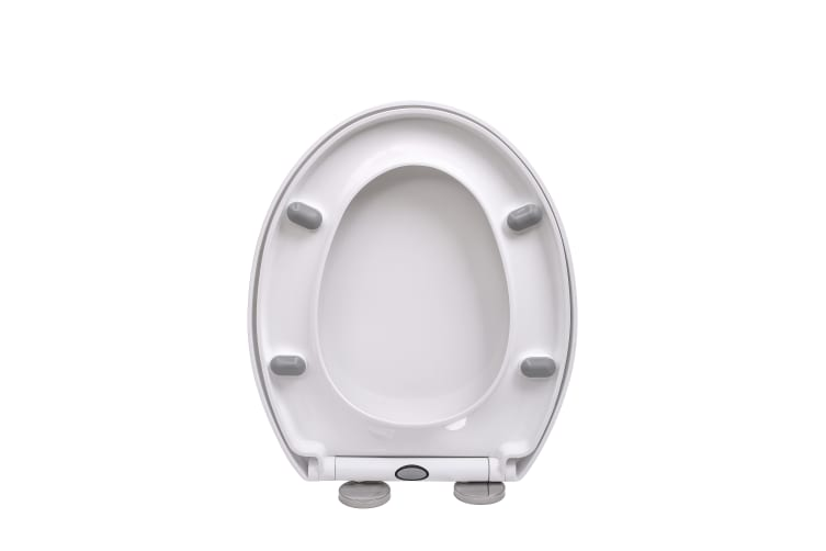 Sensational Quick Release Soft Close Toilet Seat White Bathroom Heavy Duty Machost Co Dining Chair Design Ideas Machostcouk