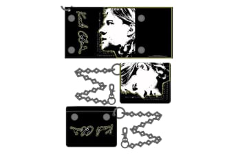 Kurt Cobain Wallet With Chain