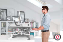 Kogan Height Adjustable Standing Desk Riser (Small)