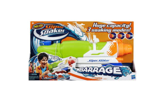 Nerf Super Soaker Barrage Water Blaster