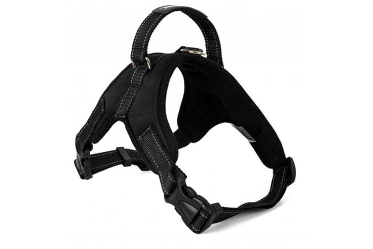 Adjustable Dog Breathable Walking Harness For Medium And Large Dogs