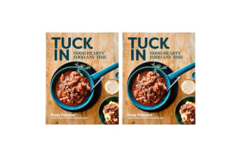 2x Tuck In: Good Hearty Food Any Time Recipe Cooking Book Hardcover Cookbook