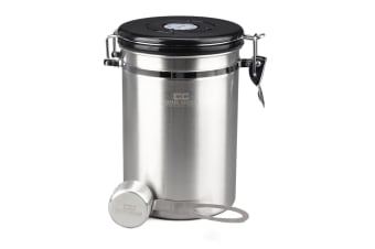 Coffee Culture Stainless Steel Coffee Canister - Large