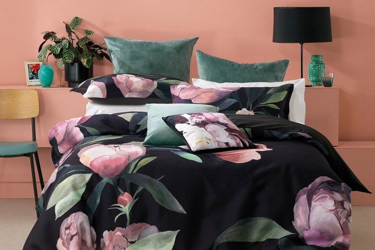 Bianca Charmaine Quilt Cover Set (King)