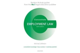 Employment Law Concentrate - Law Revision and Study Guide
