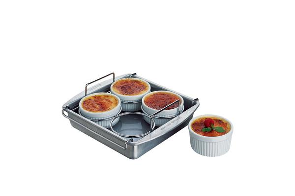 Chicago Metallic Professional Creme Brulee Set 25x23x7.8cm 6pc