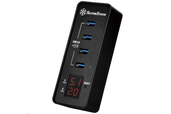 Silverstone SST-EP03 USB 3.0 Data Hub - 4-Port