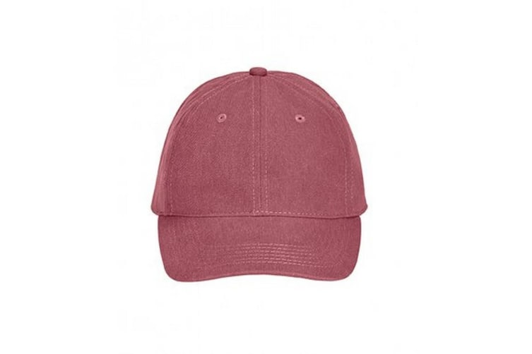 Comfort Colors Unisex Adults Pigment Dyed Cap (Brick) (One Size)