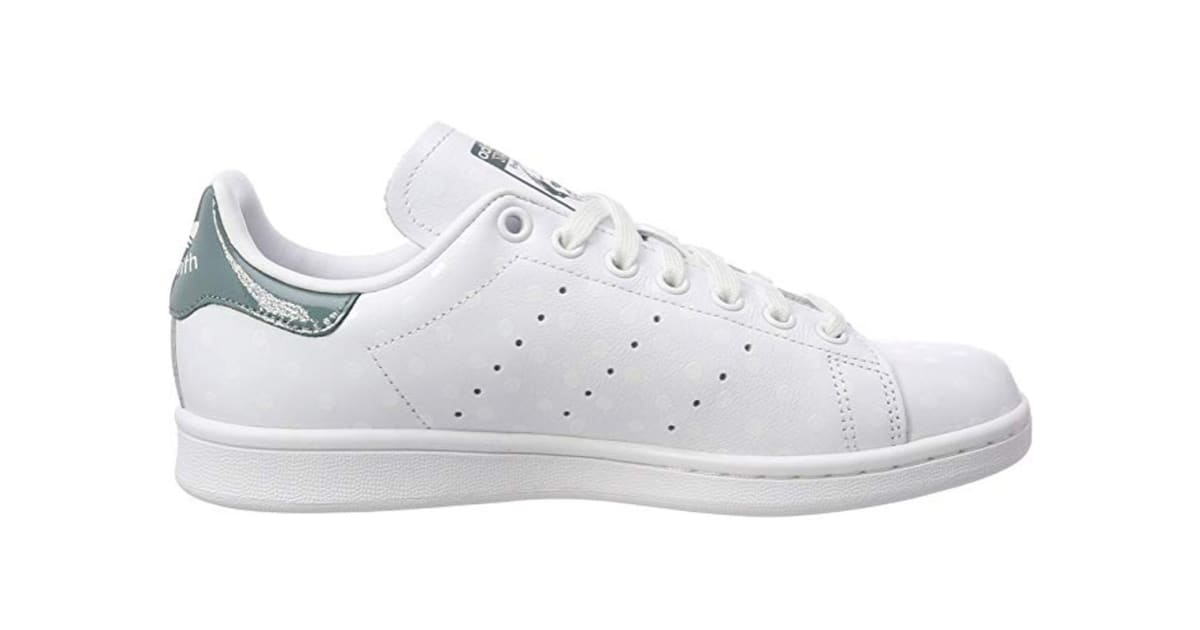check out ac2ae d67a7 Adidas Originals Women's Stan Smith Shoes (White/Raw Green, Size 6) | Shoes