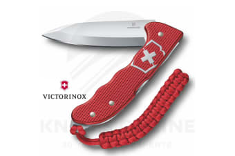 VICTORINOX HUNTER PRO RED ALOX SWISS ARMY KNIFE CLIP & LANYARD POCKET KNIFE 35249