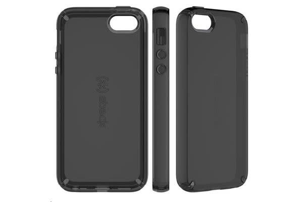 Speck 77157-5446 Apple iPhone 5 Candyshell Clear - Onyx Black