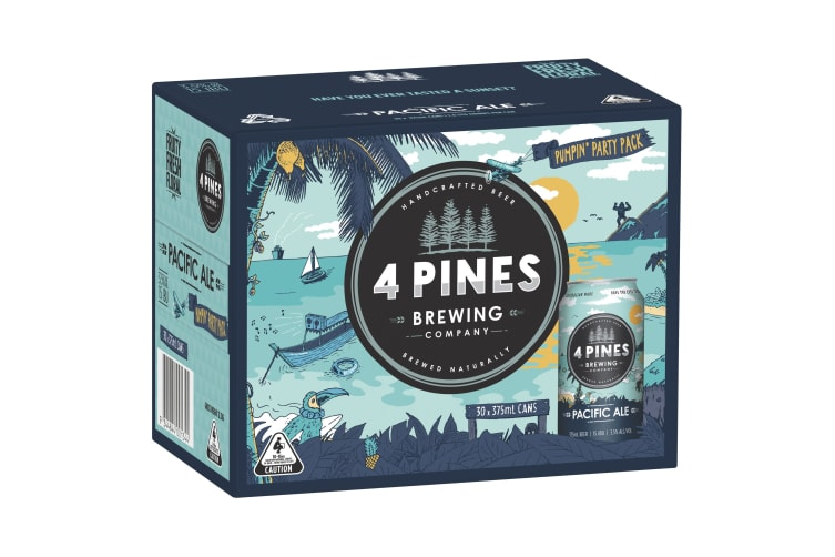 4 Pines Pacific Ale Beer 30 x 375mL
