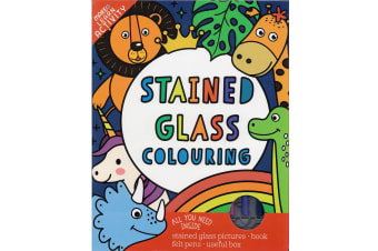 Magic Stained Glass Colouring