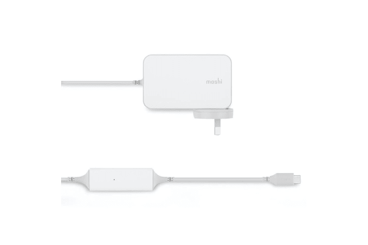 Moshi ProGeo 65W USB-C Laptop Wall Charger Fast Charge w/2m Cable/LED Indicator