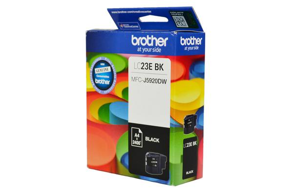 ***Brother LC23EBK BLACK INK CARTRIDGE TO SUIT MFC-J5920DW - UP TO 2400 PAGES***AYS Partner Exclusive***