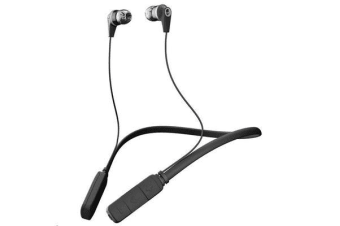 SkullCandy Inkd 2.0 Wireless In-Ear Headphones - BLACK/GRAY - with in-line mic and controls Great