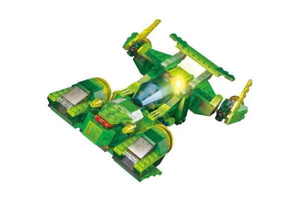 Lego Compatible MetaMorph Elite Blocks (Light Up Spaceship)