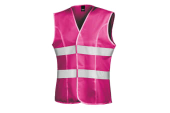 Result Womens/Ladies Reflective Safety Tabard (Fluorescent Pink)