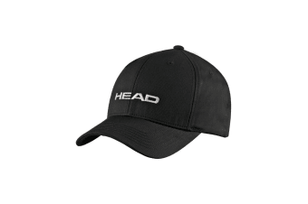 HEAD Promotion Unisex Outdoor/Tennis UV protection Cap Adjustable w/Velcro BLK