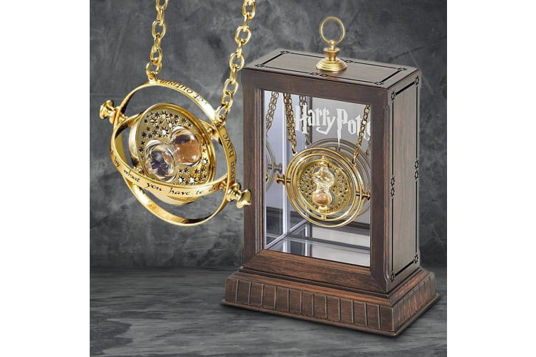 Harry Potter Time Turner Necklace With Display Case