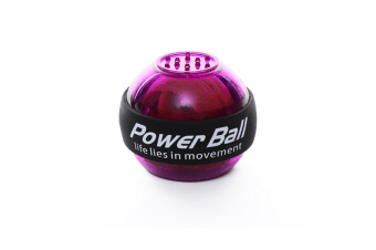 Wrist Trainer Powerball Arm Strengthener Essential Gyroscopic Wrist And Forearm Exerciser Ball Purple