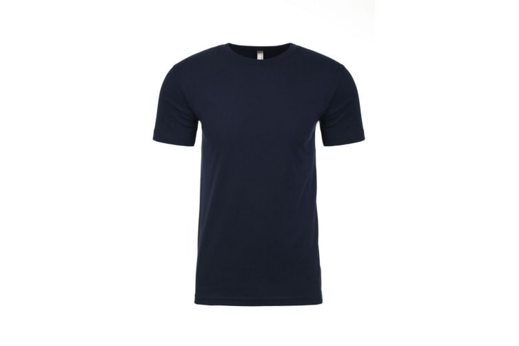 Next Level Adults Unisex Suede Feel Crew Neck T-Shirt (Midnight Navy) (M)