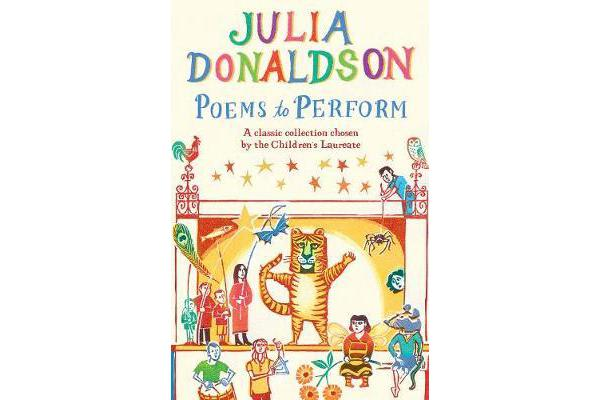Image of Poems to Perform - A classic collection chosen by the Children's Laureate