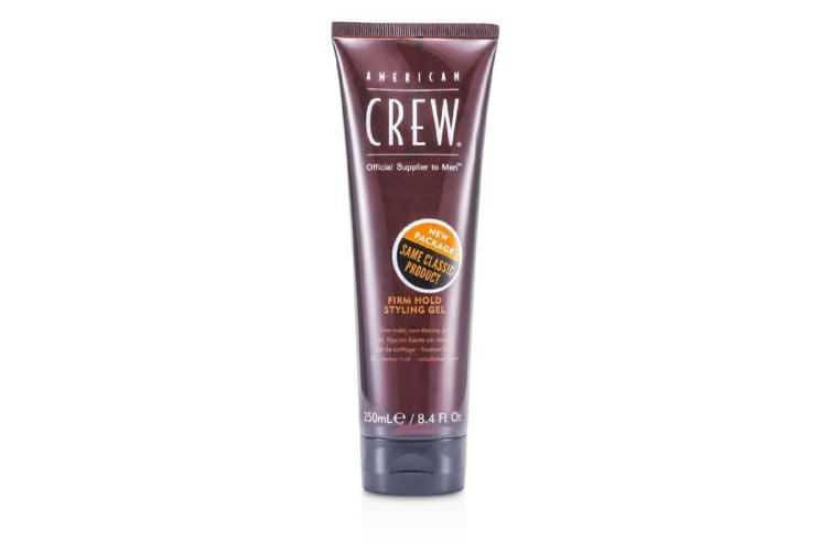 American Crew Men Firm Hold Styling Gel (Non-Flaking Gel) 250ml