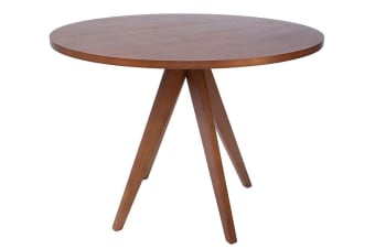 Replica Jean Prouve Inspired Dining Table | Walnut | 100cm