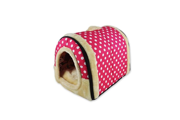 Foldable Cat Bed Cave|Non-Slip Petrabbit House With Detachable Cushion - 4 Xl