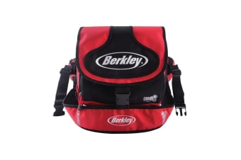 Berkley Walk N Wade Fishing Tackle Bag With 2 Tackle Boxes and Multiple Pockets