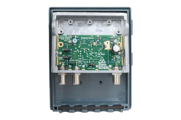 Kingray 35Db Uhf Shielded Masthead Amp
