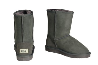 OZWEAR Connection Classic 3/4 Ugg Boots (Charcoal)