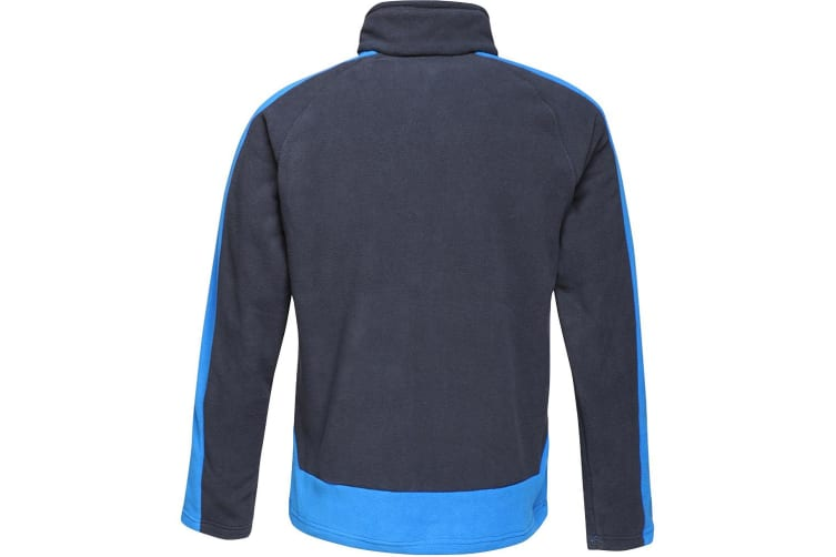 Regatta Mens Contrast 300 Fleece Jacket (Navy/New Royal) (L)