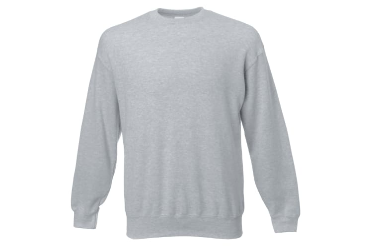Mens Jersey Sweater (Grey) (X Large)
