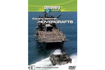 Extreme Machines - Hovercrafts -Educational Series Rare- Aus Stock DVD NEW