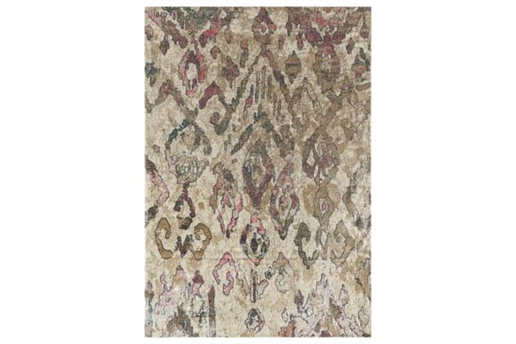 Kaitlin Soft Pink and Beige Rug 220x150cm