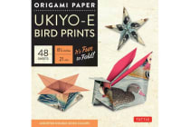"Origami Paper - Ukiyo-e Bird Prints - 8 1/4"" - 48 Sheets - Tuttle Origami Paper: High-Quality Origami Sheets Printed with 8 Different Designs: Instructions for 7 Projects Included"