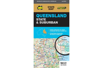 Queensland State & Suburban Map 470 28th ed