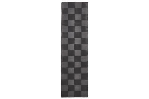 Wool Hand Tufted Rug - Box Pewter - 300x80cm