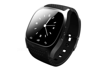 """TODO Bluetooth V3.0 Smart Watch 1.4"""" Tft Lcd Rechargeable Android Call - Black"""
