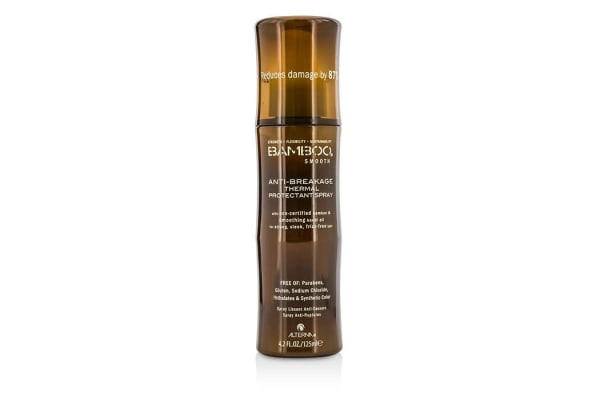 Alterna Bamboo Smooth Anti-Breakage Thermal Protectant Spray (For Strong, Sleek, Frizz-Free Hair) (125ml/4.2oz)