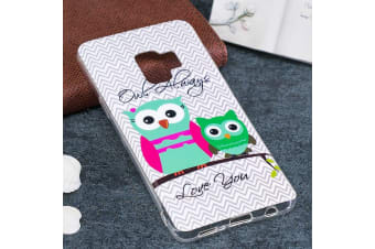 For Samsung Galaxy S9 Back Case Stylish Owl Pattern Durable Protective Cover