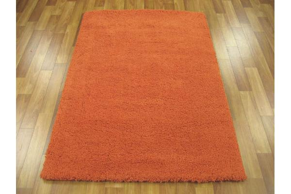 Texture Shag Rug Orange 220x150cm