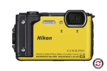 Refurbished Nikon Coolpix W300 Tough Camera (Yellow)