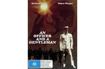 AN OFFICER AND A GENTLEMAN -RICHARD GERE -War Rare- Aus Stock Preowned DVD: DISC LIKE NEW