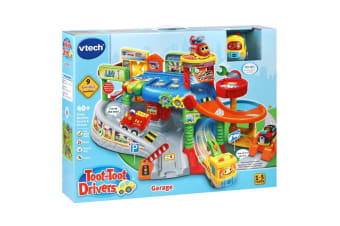 Vtech Toot Toot Drivers Garage Playset