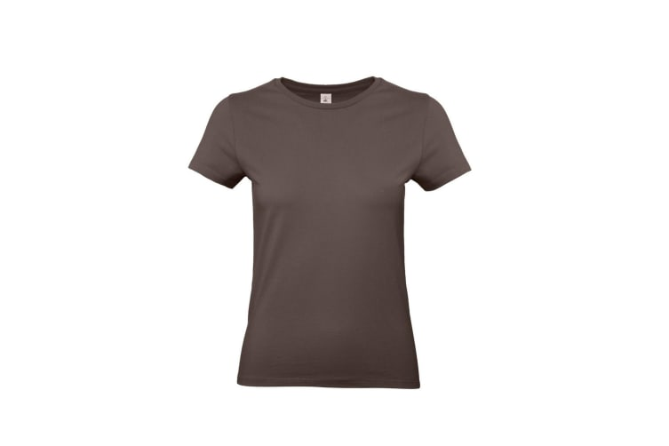 B&C Womens/Ladies #E190 Tee (Brown) (XS)