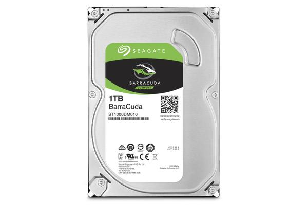 Seagate 1TB Barracuda 3.5' 7200RPM SATA3 6Gb/s 64MB Cache HDD